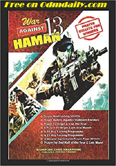 War Against Hamman 13 pray 2018