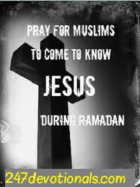 prayer for muslims during ramadan