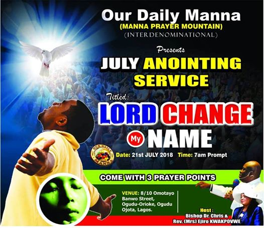 ODM END OF 14 DAYS FASTING ANOINTING SERVICE LIVE BROADCAST