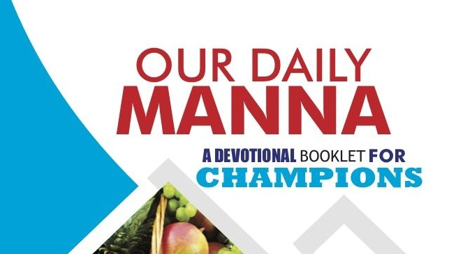 Daily Manna Today 23 November 2018