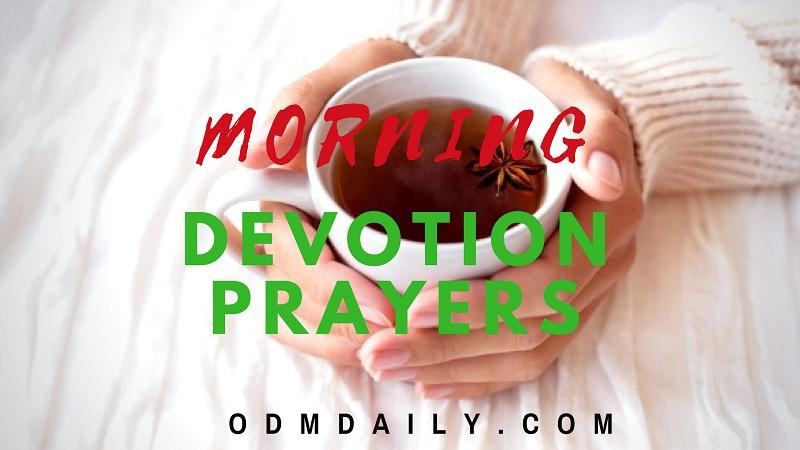 MORNING DEVOTION PRAYERS