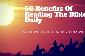 50 Benefits Of Reading The Bible Daily