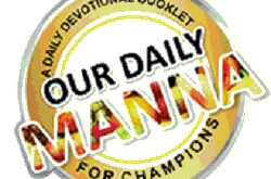 Our Daily Manna Online 26 January 2021